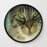 simba Wall Clocks featuring Simba by Nonna Originals