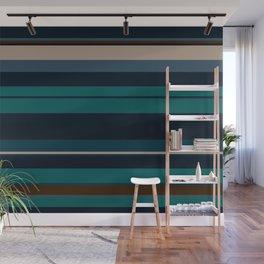 minimalistic horizontal stripes pattern hbi Wall Mural