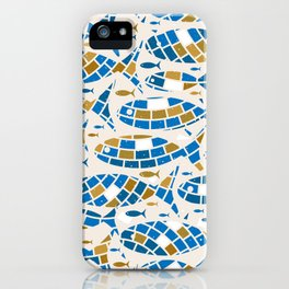 Mosaic Fishes iPhone Case