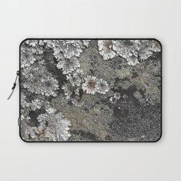 Lichen art on granite Laptop Sleeve