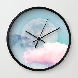 Candy Moon Wall Clock