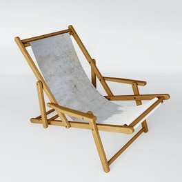 Painting on Raw Concrete Sling Chair