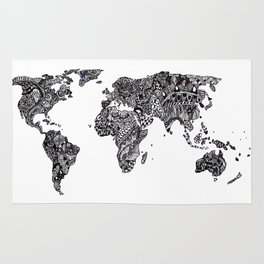 Word Map in a parallel universe Rug