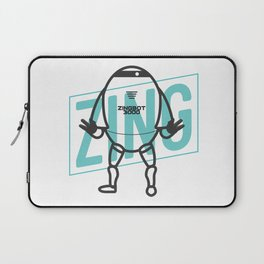 Big Brother Zingbot 3000 Tee Laptop Sleeve