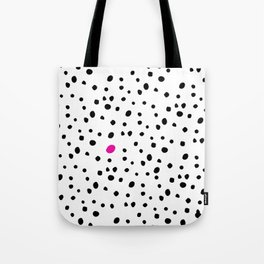 Stand out from the crowd - Dalmatian print Tote Bag