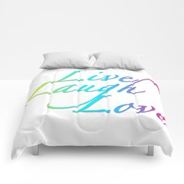 Live, Laugh, Love Comforters