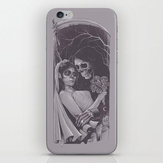 Death Won't Do Us Part iPhone & iPod Skin