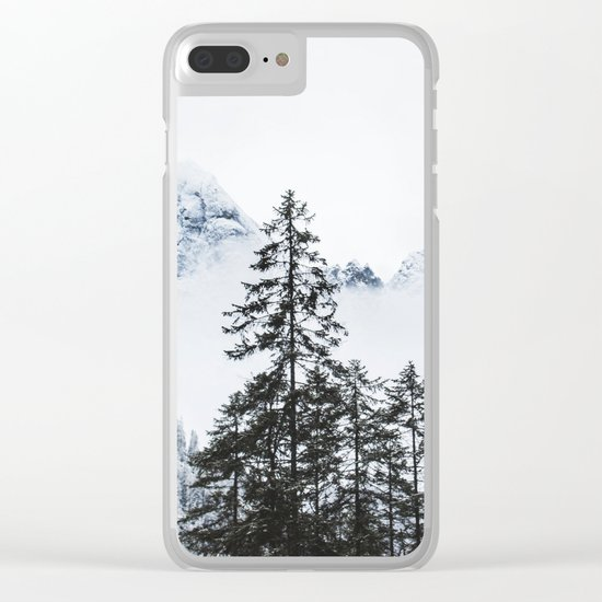Worlds apart Clear iPhone Case