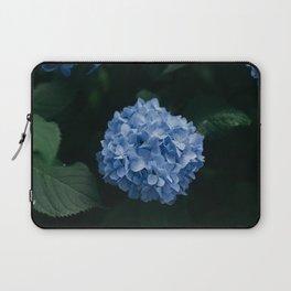 Blue Hydrangea Flower Laptop Sleeve