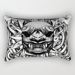 Japanese Tiger Rectangular Pillow