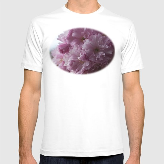 Pink cherry blossom T-shirt