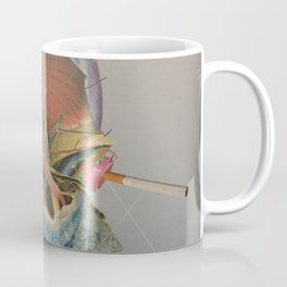 Another Portrait Disaster · the queen of flesh Coffee Mug
