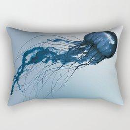 Blue Danube, Pacific Sea Nettle Rectangular Pillow
