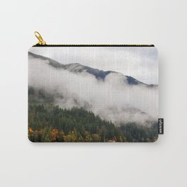 Fog in Olympic National Park Carry-All Pouch
