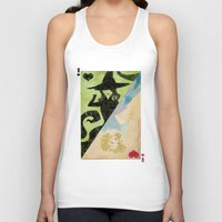 wicked Tank Tops featuring Wicked by Serena Rocca