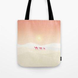 Minimal desert Tote Bag
