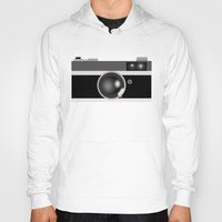 vintage camera Hoodies featuring Camera by LeahOwen