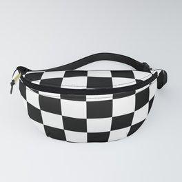 Checkered (Black & White Pattern) Fanny Pack