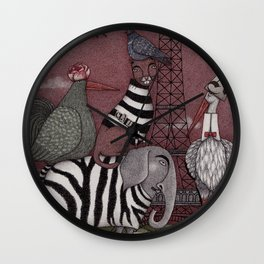 Animal Convention Wall Clock