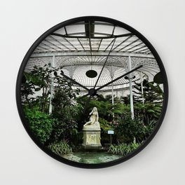 Eve in the Garden Wall Clock