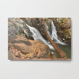 Rose River Falls Metal Print