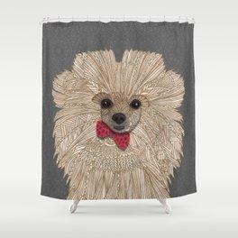 Mr. Benson Shower Curtain