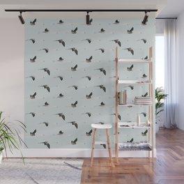 Flamingos collab. with @rodrigomffonseca Wall Mural