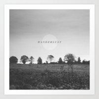 wanderlust Art Prints featuring Wanderlust by Tina Crespo