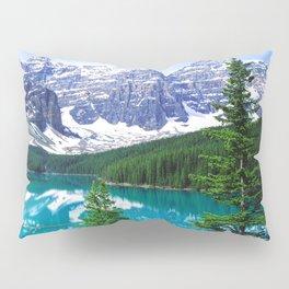 Canadian Wonder: Moraine Lake Pillow Sham
