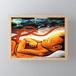 Latin america street art Framed Mini Art Print