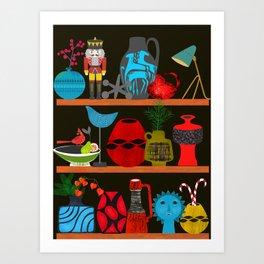Collectors shelf Art Print