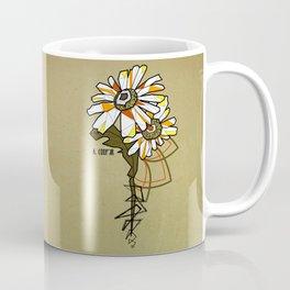 Tournesol - geometrci flower Coffee Mug