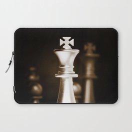 Chess-Sliver King Laptop Sleeve