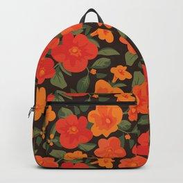 Marmalade Bush. Streptosolen jamesonii Pattern Backpack