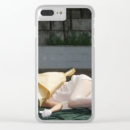 Please knock before entering.  With love, your Love Clear iPhone Case