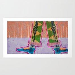 Humanitas 9 Art Print
