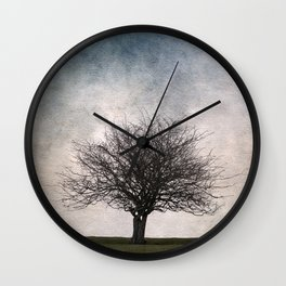 Lonely tree #2 Wall Clock