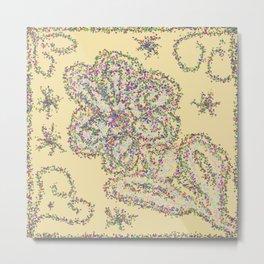 Flower BBB Metal Print