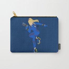 Zero Suit Samus(Smash)Blue Carry-All Pouch