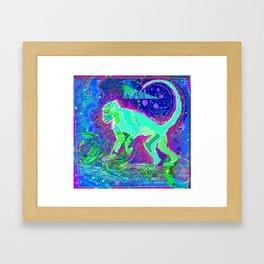 Monkey dreamer Framed Art Print