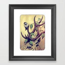 Bittersweet - coloured Framed Art Print