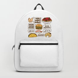 Talking Food Backpack