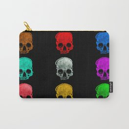 Skull colors Carry-All Pouch