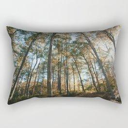 into the woods 08 Rectangular Pillow