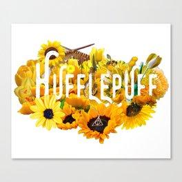 Helga's Sunflowers Canvas Print