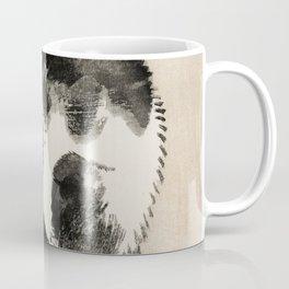 Sleeping Cat Traditional Japanese Wildlife Coffee Mug