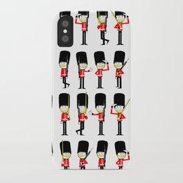 Britz Guards iPhone Case