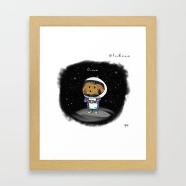 D r e a m Framed Art Print