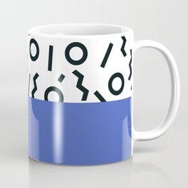 Memphis pattern 44 Coffee Mug