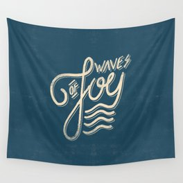 Waves of Joy Wall Tapestry